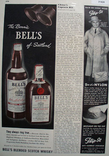Bells Blended Scotch Whisky 1948 Ad