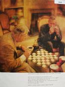 Pan American Coffee Bureau Checker Game Ad 1961