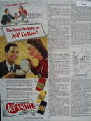 A And P Coffee Its Time To Turn Ad 1944