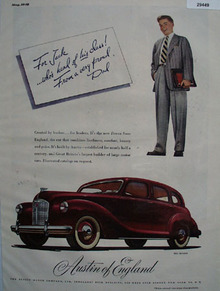 Devon Created By Austin For Jack Ad 1948