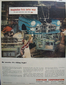 Chrysler Corp Imaginations Finds Better Ways Ad 1949