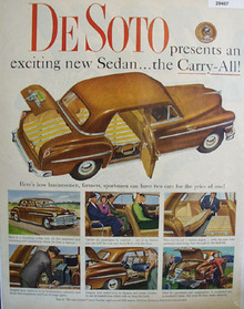 DeSoto Carry All Sedan 1949