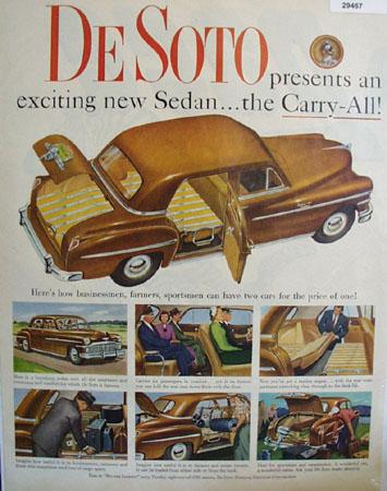 DeSoto Carry All Sedan 1949