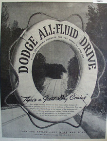 Dodge Wealthy family Ad 1948