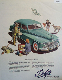 Dodge Theres A Great Day Coming Ad 1944