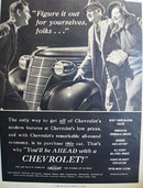 Chevrolet Figure It Out For Yourselves Ad 1938