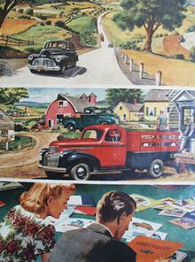 Chevrolet Prewar Leader Ad 1945