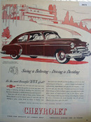 Chevrolet Seeing is Believing Ad 1949