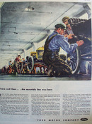 Ford Motor Co Assembly Line Is Born Ad 1949