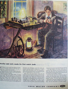 Ford Needles and Nails First Watch Tools Ad 1944