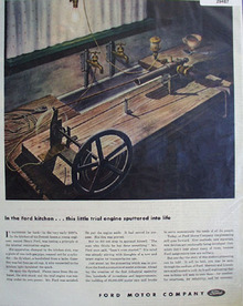 Ford Motor Company In The Ford Kitchen Ad 1944