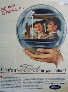 Ford Motor Co You Will Be Proud Of It Ad 1945