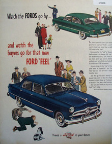 Ford Watch The Fords Go By Ad 1949
