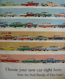 Ford Family Of Fine Cars Ad 1952