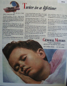 General Motors Twice In Lifetime Ad 1944