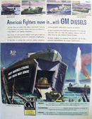 General Motors American Fighters Move In Ad 1944
