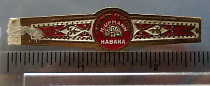 H Upmann Cuban Cigar Band