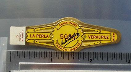 La Perla Andris Cigar Band