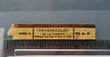 Invencibles no 66 Cigar Band