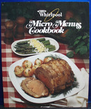 Whirlpool Microwave Menus Cookbook 1986