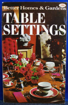 BHG Table Settings Decor Book 1968