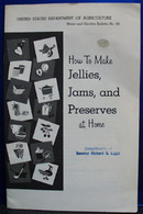 How To Make Jams Jelly and Preserves 1976