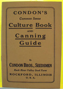 Condons Culture and Canning Booklet 20th Century