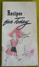 General Foods Recipes For Today Cookbook 1943