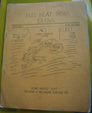 IN and MI Electric Company 3 Cookbooklets 20th Century