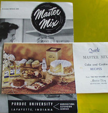 2 Master Mix Cookbooklets 20th Century