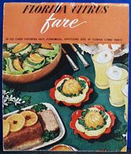 Florida Citrus Fruit Far Cookbook 20th Century