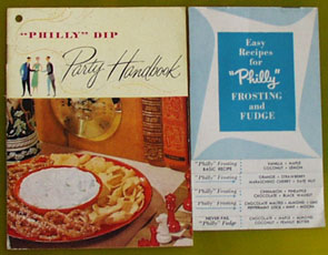 2 Kraft Cream Cheese Recipe Cookbooks 20th Century