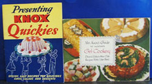 2 Knox Gelatine Cookbooks 1938 era