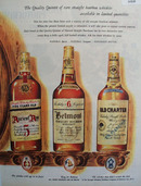 Ancient Age, Belmont, Old Charter Whiskey 1949 Ad
