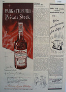 Park And Tilford Private Stock 1948 Ad