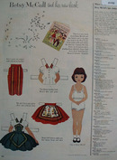 McCall Corporation Betsy McCall Book 1954 Ad