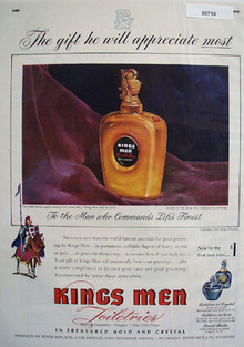 Kings Men Toiletries Gift He Appreciates Most Ad 1948