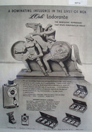 Lorle Lodorante Mens Toiletries Dominating Influence Ad 1946