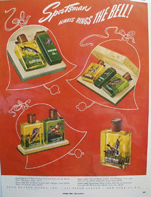 Sportsman Toiletries Rings The Bell Ad 1949