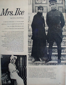Mrs Mamie Eisenhower Article with Pictures 1952