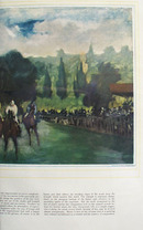 Races At Longchamp Paris Picture 1948