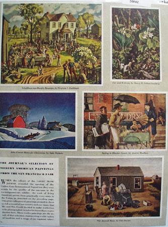 Art Portfolio by Ben Stahl 1947