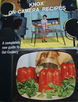 Knox On Camera Recipes Cookbook 1962