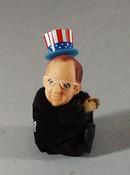 Nixon political souvineer clip on doll pair