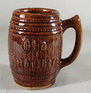 Barrel Mug Old Pottery