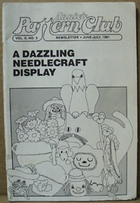 Annies Pattern Club Magazine 1981