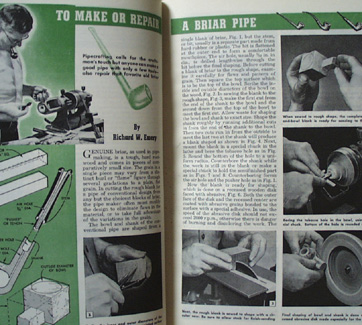 Popular Mechanics Money Making Hobbies Book 1949
