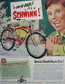 Schwinn Christmas Ad 1951