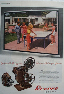 Revere Camera In Pursuit Of Happiness Ad 1947