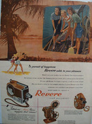 Revere Camera Swabbing The Deck Ad 1948